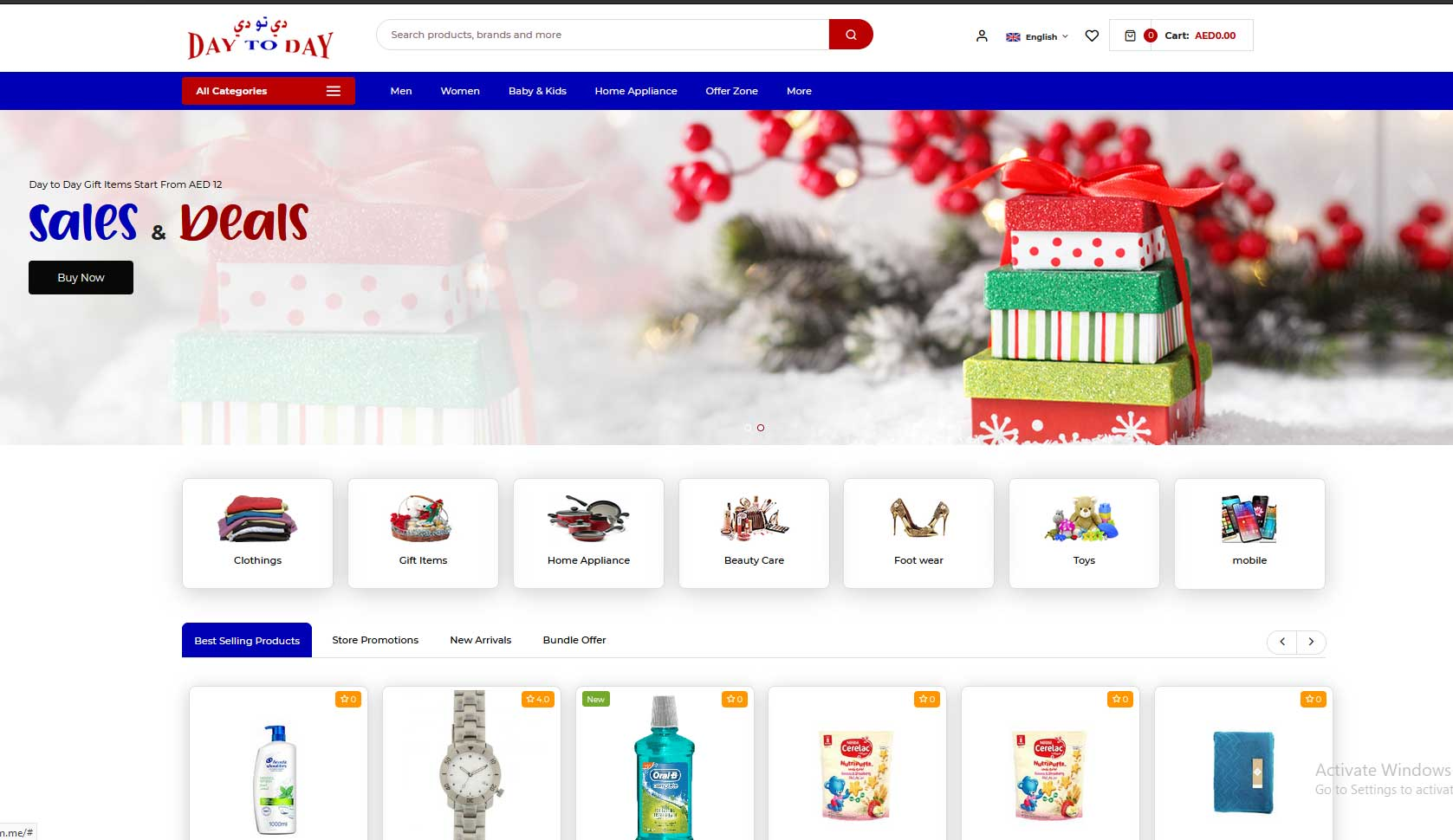 Day to Day Magento Ecommerce